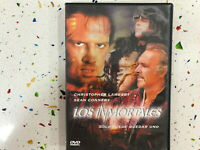 LOS INMORTALES DVD SOLO PUEDE QUEDAR UNO CHRISTOPHER LAMBERT SEAN CONNERY