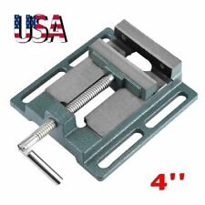 4 Heavy Duty Bench Drill Press Vice Milling Drilling Clamp Machine Vise Us