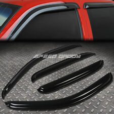 FOR 07-14 TAHOE/YUKON 4DR SMOKE TINT WINDOW VISOR/WIND DEFLECTOR VENT RAIN GUARD