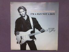 """Chesney Hawkes - I'm A Man Not A Boy (7"""" single) poster sleeve CHSP 3708"""