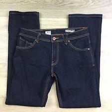 Volcom Dissolver Modern Straight Leg Women's Jean Size 30 Fit W32 L31 (M20)