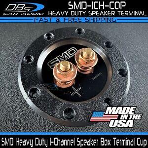 Steve Meade SMD Copper 1 Channel Heavy Duty Subwoofer Speaker Box Terminal Cup