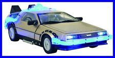 Modello Auto DE LOREAN da RITORNO AL FUTURO 1 con SUONI LUCI Diamond USA Raro