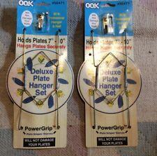 """Lot Of 2-"""" OOK # 50471. 7-10"""" Deluxe Plate Hanger Set"""