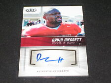 Davin Meggett 2012 Sage Rookie Certified Authentic Hand Signed Autographed Card