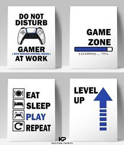 Gaming Prints Games Bedroom Wall Poster PS5 Boy Room Decor Gamer Playstation 5