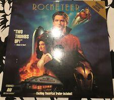 "The Rocketeer 12"" Laserdisc CAV Widescreen Edition In Great Condition"