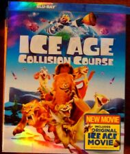 "Ice Age Collisio Course "" Blu-Ray Movie Disc, Blu-ray Case, Artwork & Slipcove"