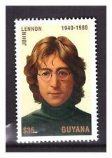 s23204) GUYANA 1995 MNH** John Lennon Beatles 1v
