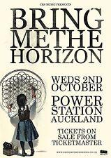 Bring Me The Horizon 2013 Auckland Concert Tour Poster -Alternative Metal Music