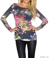 Pull long Femme/Woman multicolore 30% laine made in Italie