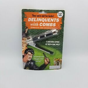 Delinquents With Combs 'They were out for Kicks' Novelties Classic Accoutrements