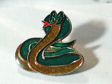 R Vintage Cobra Snake Cartoon Enamel Pin