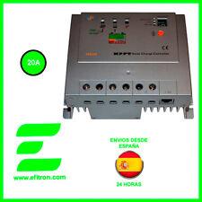 Regulador de carga solar MPPT (maximizador) 12/24V.20A, Vmax:150 V TRACER 2215RN