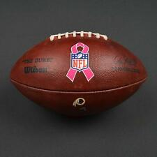 2016 Game Used Washington Redskins Bca Wilson Football! From 2016 Nfl Season