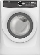Electrolux Efmg617Siw 27 Inch 8.0 cu. ft. Gas Dryer 