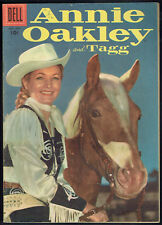 Annie Oakley And Tagg 9 Fn/Vf/7.0 - Nice photo cover! Ow to white pages!
