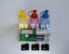 3 x Toner Refill + Chips For Xerox Phaser 6010 6000 6015 106R01627 ~ 106R01629