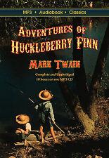 Adventures of Huckleberry Finn - Unabridged MP3 CD Audiobook in DVD case