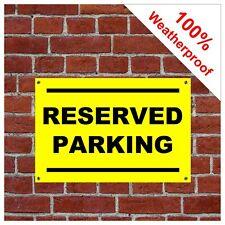 Reserved parking sign 9146