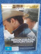 BROKEBACK MOUTAIN(3 ACADAMY AWARDS) HEATH LEDGER,JAKE GYLLENHALL DVD M R4