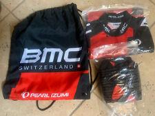 Pearl Izumi Official BMC Cycling Kit Bib Jersey And BMC Bag NEW Medium Med M