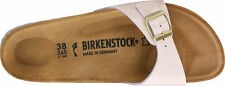 Birkenstock Madrid Birko-Flor Patent Two Tone Women Slides slippers sandals NEU