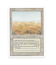 Magic The Gathering MTG Revised Scrubland VG Condition
