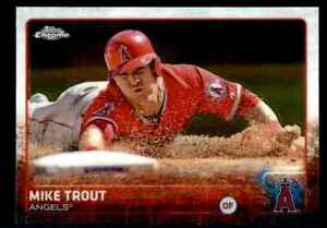 Mike Trout 2015 Topps Chrome #51