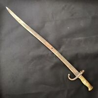 French Model 1866 Chassepot Yataghan Sword Bayonet Knife Indian Wars