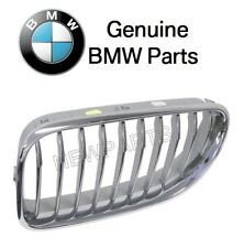 For BMW F06 F12 F13 650i GC xDrive Front Driver Left Chrome Grille Genuine