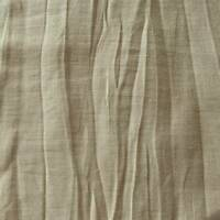 Taupe Beige Crushed Semi-Opaque Drapery Fabric, Fabric By The Yard