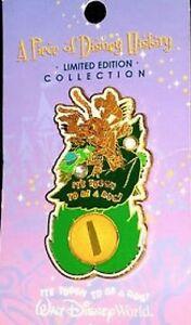 Disney Pin: Piece of Disney History 2005 It's Tough To Be A Bug Hopper (LE 2500)