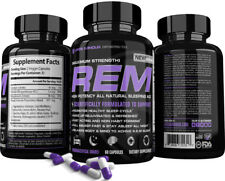 REM™ Sleep Aid by Life's Armour™ Best All Natural Extra Strength Sleeping Pills