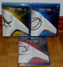 STAR TREK LAS SERIES ORIGINALES 1-3 TEMP. COMPLETAS 22 BLU RAY NUEVO ESPAÑOL R2
