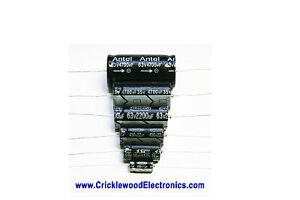 450V Axial Electrolytic Caps 1uf 2.2uf 4.7uf 8uf 10uf 16uf 22uf 33uf 47uf 100uf