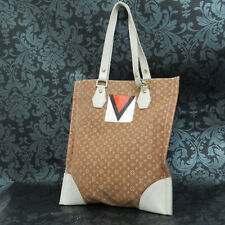 Rise-on LOUIS VUITTON 2005 LV CUP MONOGRAM MINI LIN TANGIER Beige Tote Bag #4