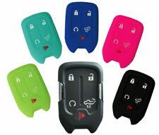 Car Flip Remote Key Fob Silicone Rubber Cover Case Shell for 2019 2020 Silverado
