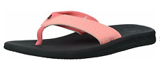 REEF Women's Lofty Flip Flop Slip-On Sandals US Size 5 BRIGHT CORAL