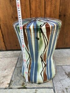 Japanese pottery chair For garden Vintage Japanese style Vertical stripe