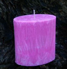 70hr Coco Mademoiselle Chanel PINK Scented Oval NATURAL CANDLE + FREE SHIPPING