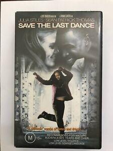 Save the Last Dance (2001, VHS, Julia Stiles, Sean Patrick Thomas)