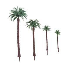 20x Mini Coconut Palm Tree Plant Bonsai Craft Micro Landscape Layout Decor