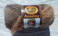 Lion Brand Amazing Yarn in Cobblestone - New, Worsted Wt., Non-Smoking Home