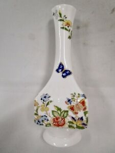Vintage AYNSLEY England Floral - Cottage Garden - Bud Vase