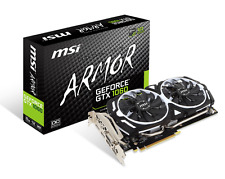 MSI GeForce GTX 1060 6GB ARMOR Boost Graphics Card