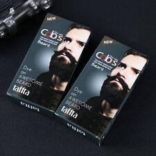 100% Natural Beard Dye Cream Men Mustache Beard Cream Natural Black Dye Wax Fast
