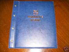 VST BANKNOTE ALBUM BLUE COLOUR with 6 x 3 POCKET PAGES holds 18 Banknotes