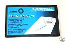 Avaya Lucent Partner Mail Vs Mailboxes Expansion Card 2 Port 20 Mail Mailboxes