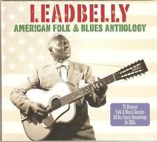 LEADBELLY AMERICAN FOLK & BLUES ANTHOLOGY - 3 CD BOX SET